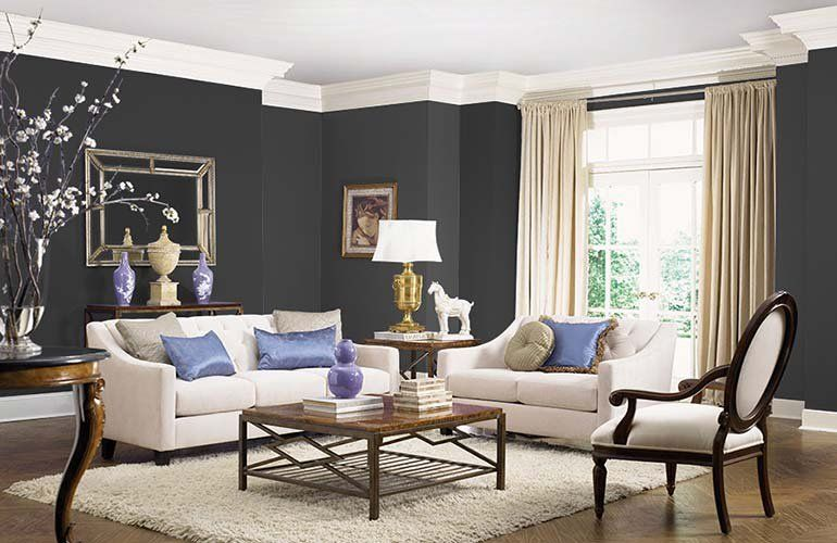 Hottest Interior Paint Colors of 2018 | Living room wall color .