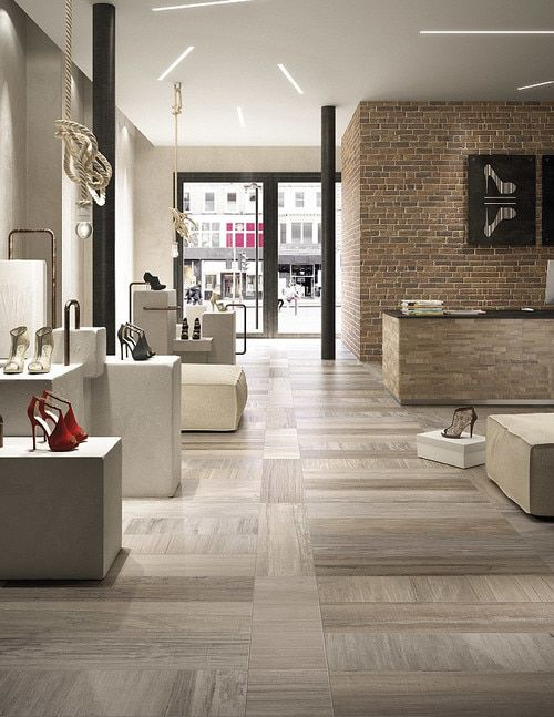 Wood Look Porcelain Tiles (With images) | Ceramic floor tile .