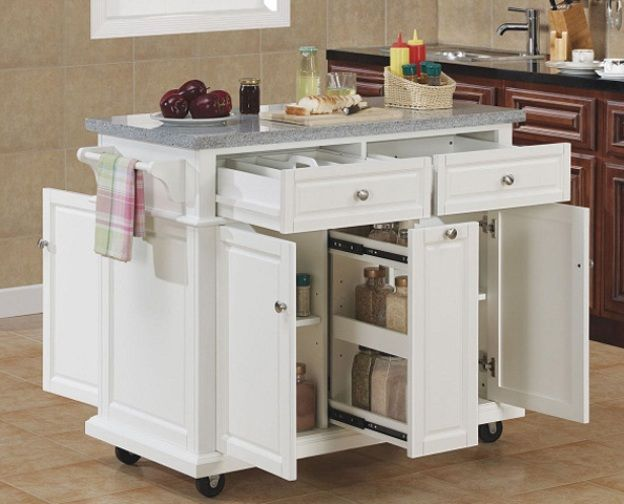 Portable Kitchen Islands IKEA | Mobile kitchen island, Movable .