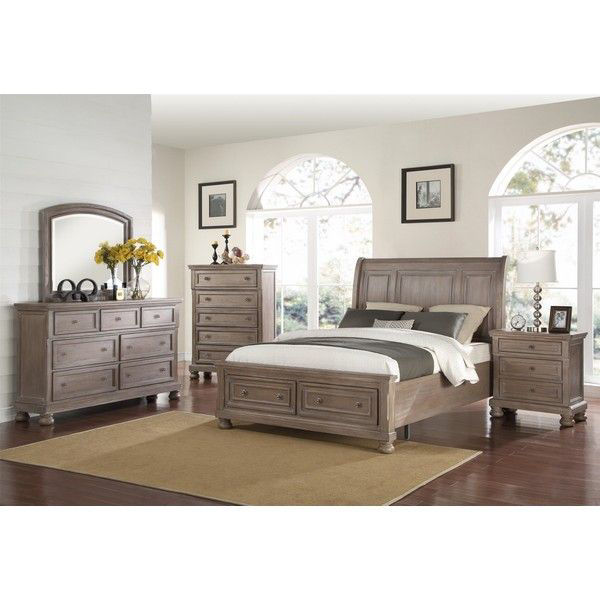 MB74 Pewter Vintage Queen Bedroom S