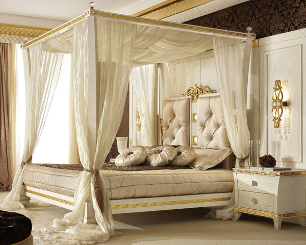 20 Queen Size Canopy Bedroom Sets | Home Design Lov