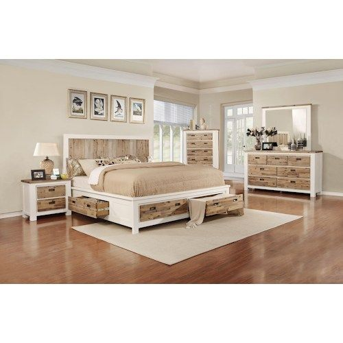 Lifestyle Tommy 5-Piece Queen Storage Bedroom Set (With images .