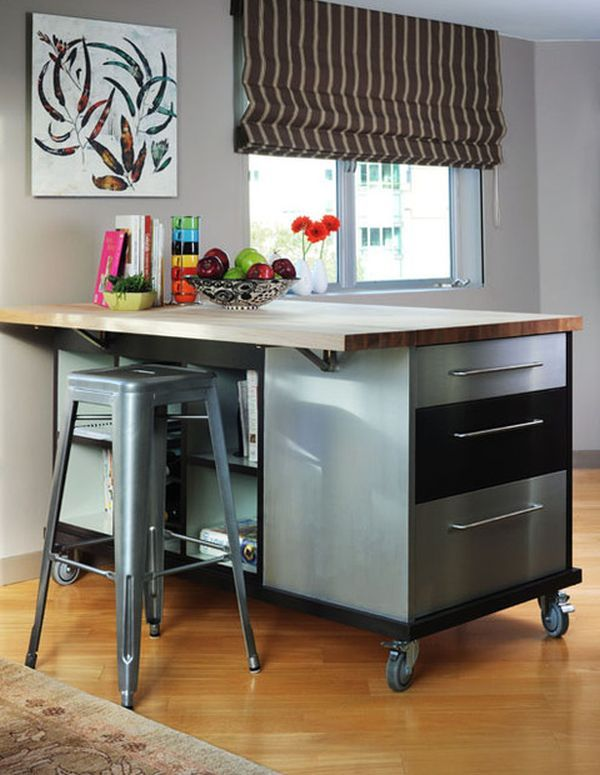 10 Practical, versatile and multifunctional rolling kitchen .
