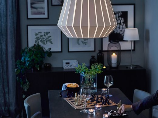 Romantic Dining Room Lighting Ikea