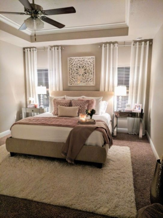 43 Romantic Rustic Bedroom Ideas - ROUNDECOR   Luxurious bedrooms .