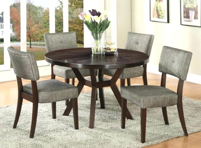 Small Round Dining Table Sets Wood Design Ideas For Within 4 Room .
