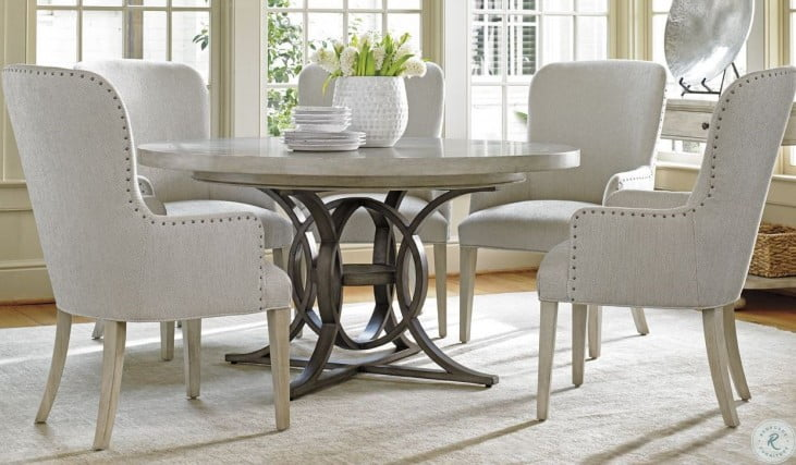 Oyster Bay Calerton Extendable Round Dining Room Set from .