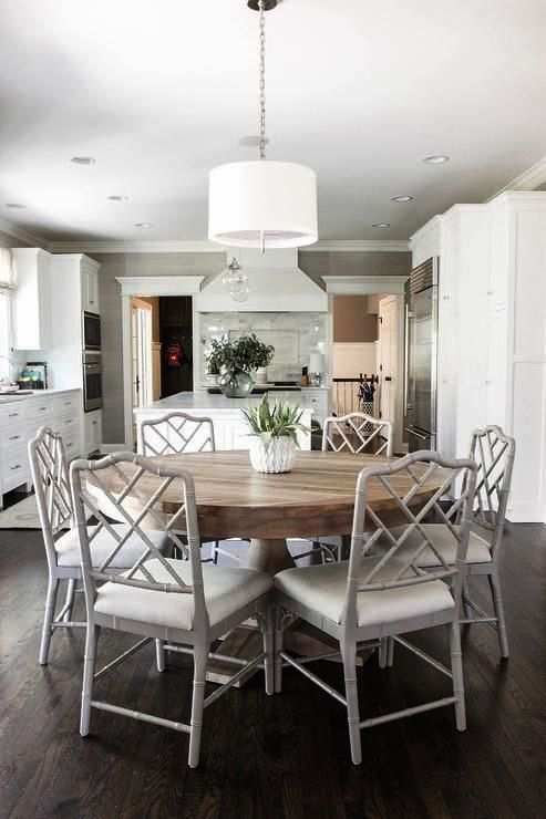 Only Furniture: Fabulous Round Kitchen Table Decorating Ideas 20 .