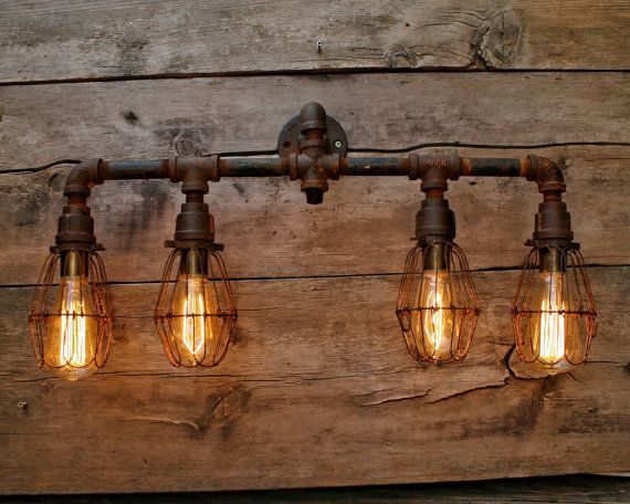 This item is unavailable | Etsy | Rustic bathroom lighting, Rustic .