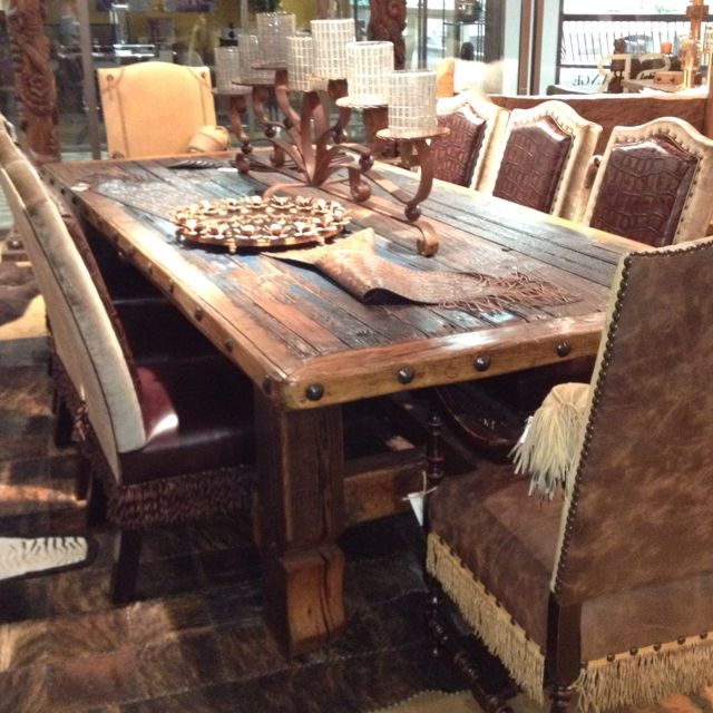 Pin by Tin Star Furniture on Rustic and Western Furniture | Wood .