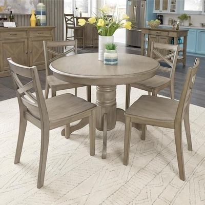 Gray Rustic Dining Room Sets at Lowes.c