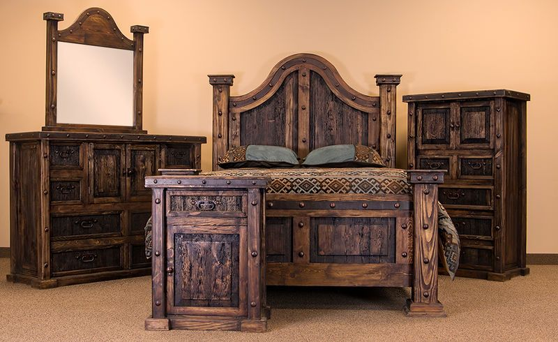 Rustic Bedroom Furniture – efistu.com in 2020 | Rustic bedroom .