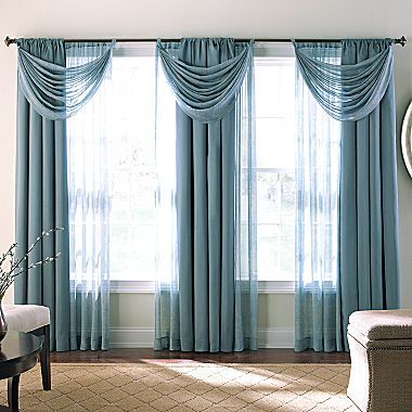 JCPenney | Curtains living room, Elegant draperies, Living room drap