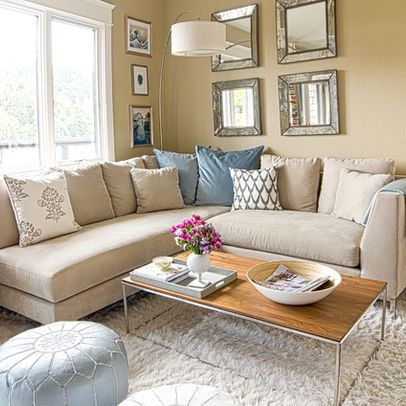 Beige Sectional Sofa Design Ideas, Pictures, Remodel and Decor .