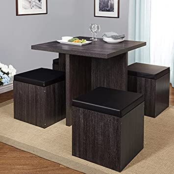 Amazon.com - Simple Living 5-piece Baxter Dining Set with Storage .
