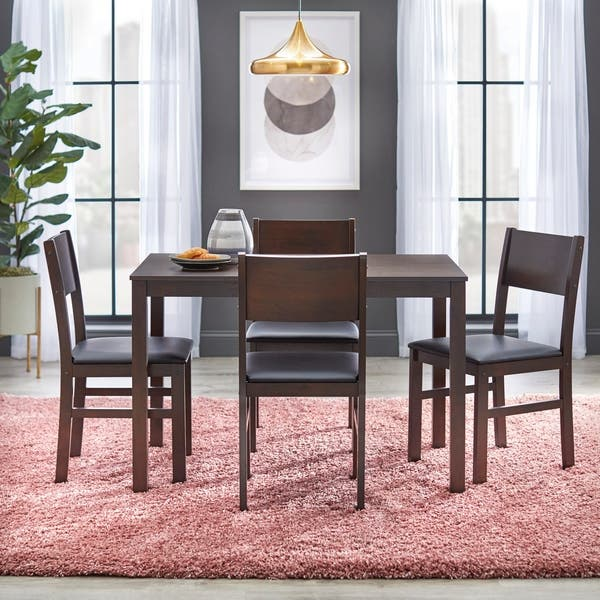 Shop Simple Living Templeton 5-Piece Dining Set - On Sale .
