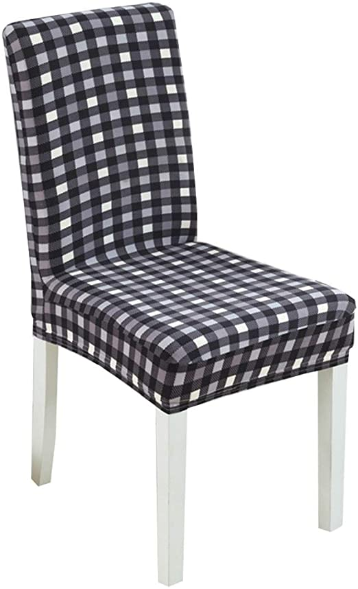 Amazon.com: Chair Cover Dining Chair Slipcovers Home Kitchen Back .