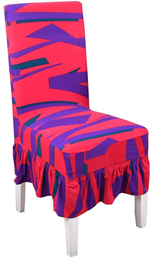 Amazon.com: Chair Cover Dining Chair Slipcovers Flexible Seat .