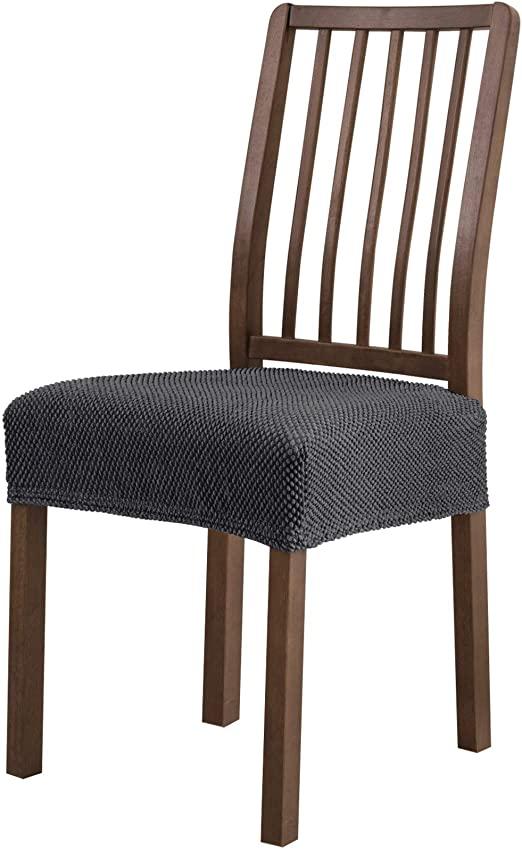 Amazon.com: subrtex Dining Room Chair Seat Slipcovers Sets .
