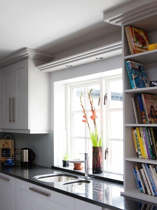Shelf Bridge-Over Kitchen Sink Simple design (three layer crown .