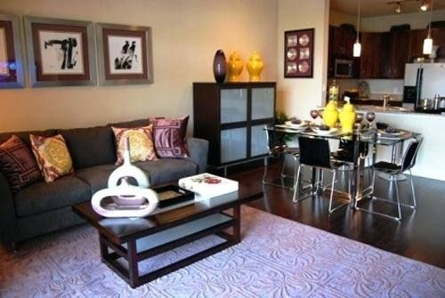 How To Decorate A Long Living Room Dining Room Combo   Living room .