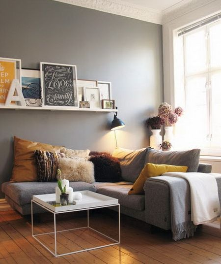 50 Amazing DIY Decorating Ideas For Small Apartments | Living room .