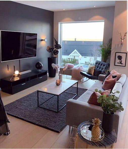 40 Elegant Small Apartment Decor Living Room Idea - Home Decor .