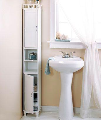 65 | Slim storage cabinet, Small bathroom storage, Bathroom stora