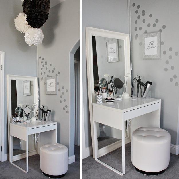 22 Small Dressing Area Ideas Bringing New Sensations into Interior .