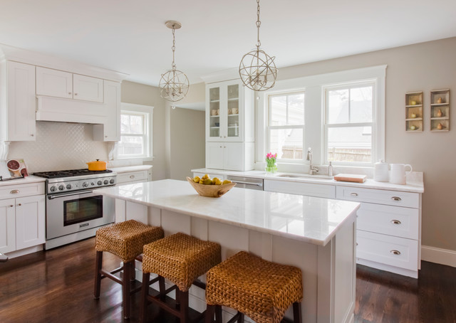Plan Your Kitchen Island Seating to Suit Your Family's Nee