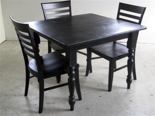 Small Square Kitchen Table Made to Your Specifications by Ha