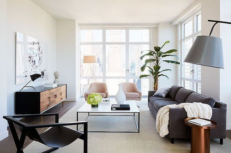 How to Arrange Your Living Room Layout, No Matter the Si