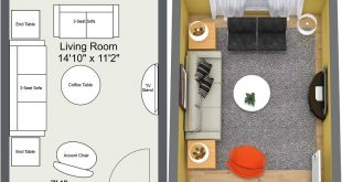 RoomSketcher Blog | 8 Expert Tips for Small Living Room Layou