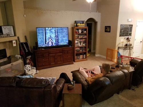 Small Living room, big furnitu