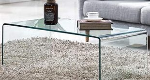 Amazon.com: Premium Tempered Glass Coffee Table,Clear Coffee Table .