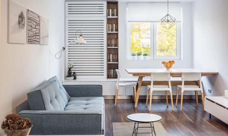How to Fit a Dining Table in a Small Living Room