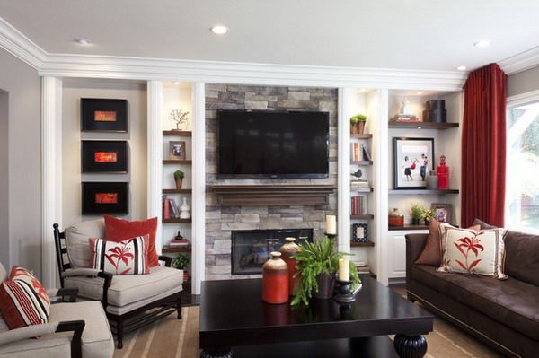 Modern Living Room With Fireplace And Tv Inspiration Ideas 1848 .