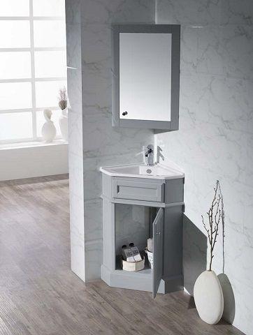 Small Bathroom Solutions: Storage Smart Bathroom Vanities .