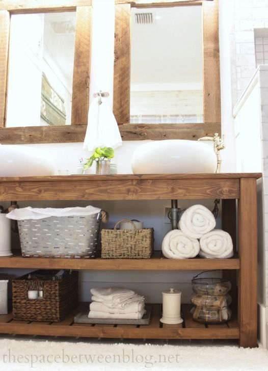 Rustic bathroom vanity is one of the most popular bathroom vanity .