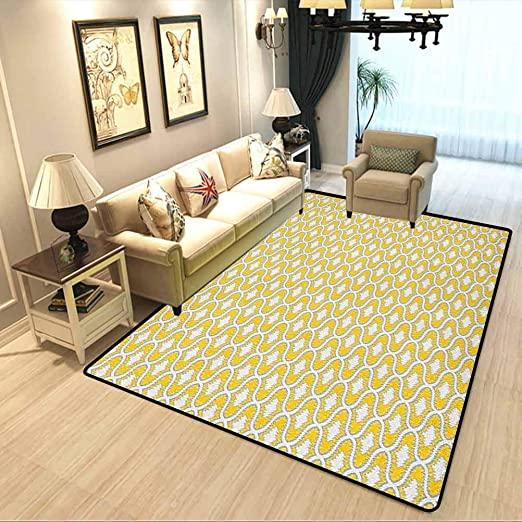 Amazon.com: Ikat Soft Bedroom Rugs Oval Shaped Design Vivid Color .