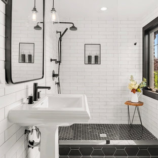 75 Beautiful Subway Tile Bathroom Pictures & Ideas - October, 2020 .