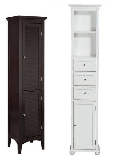Tall narrow bathroom storage cabinet - b | Narrow storage cabinet .