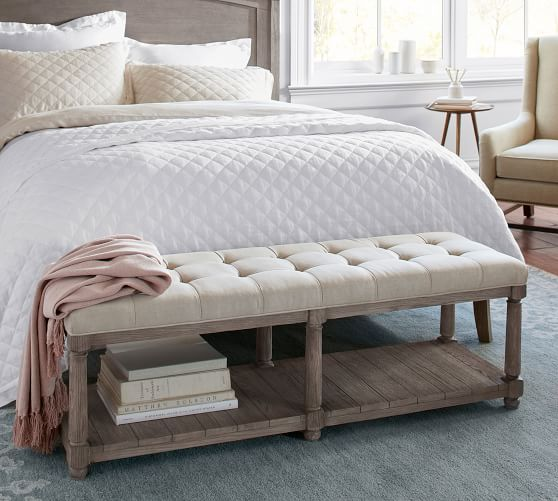 Tufted Bedroom Bench