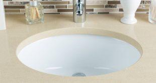 Hahn Ceramic Oval Undermount Bathroom Sink with Overflow - Walmart .