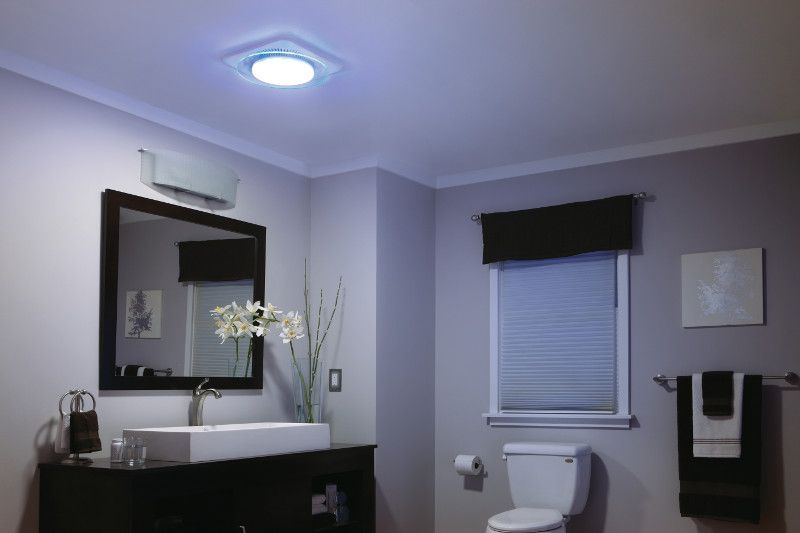 QTNLEDA Bath and Ventilation Fans - NuTone | Bathroom ceiling .