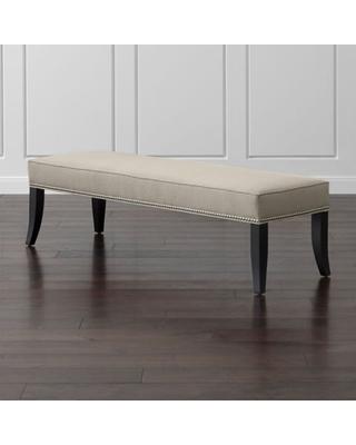 Amazing Deal on Crate&Barrel - Colette King Upholstered Bench .