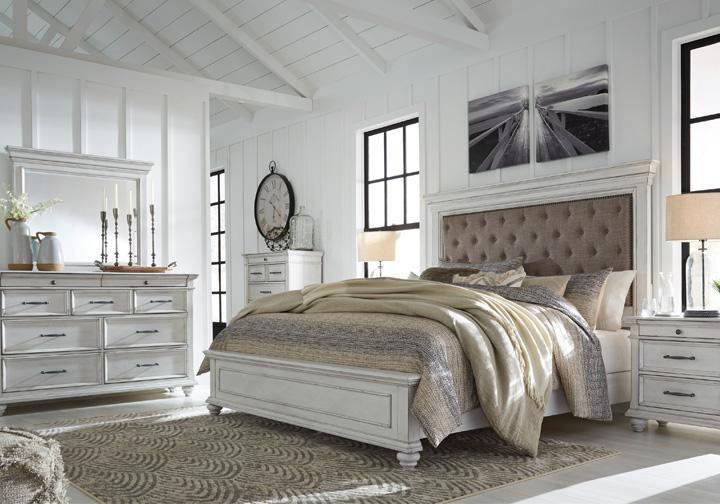 Upholstered Queen Bedroom Sets