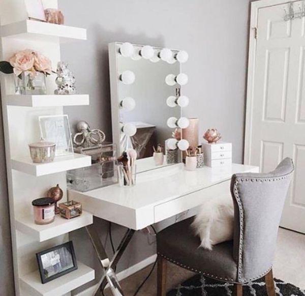 White laquer desk | Box Room Ideas Ikea | Small Bedroom Ideas For .