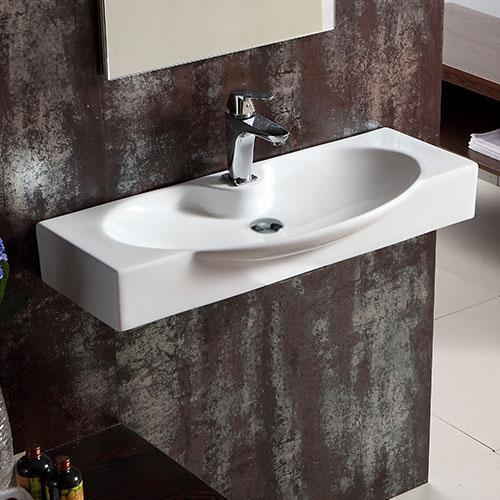 Harshaw Vitreous China Wall-Mount Bathroom Sink – Magnus Home Produc