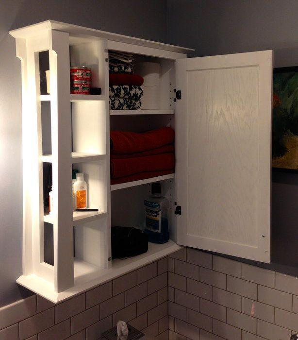 Bathroom wall cabinet | Bathroom wall storage cabinets, Wall .